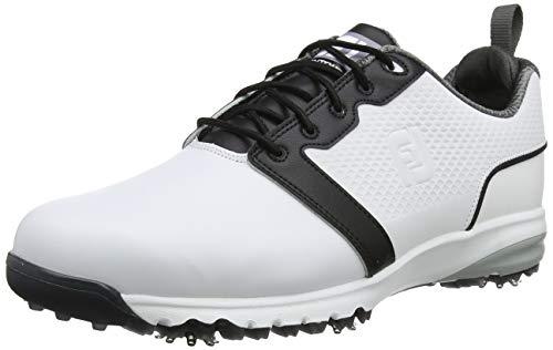 Footjoy Contour Fit, Scarpe da Golf Uomo, Bianco (Blanco 54161), 46 EU