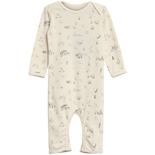 Wheat Unisex Baby Spieler Jumpsuit Winnie The Pooh, Elfenbein (Ivory 3182), 74 (Herstellergröße: 74/9m)