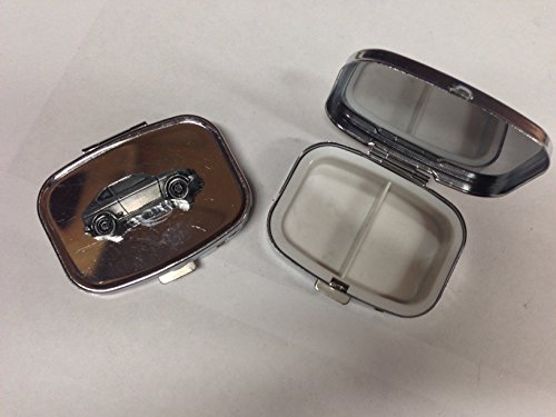 suzuki-gx-ref244-pewter-effect-emblem-on-travel-silver-rectangular-metal-pill-box