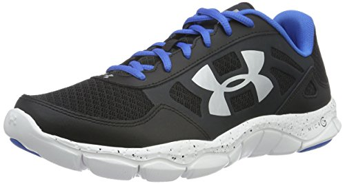 Under Armour Micro G Engage Bl H 2 - Scarpe Running Uomo, Nero (Black), 42.5 EU