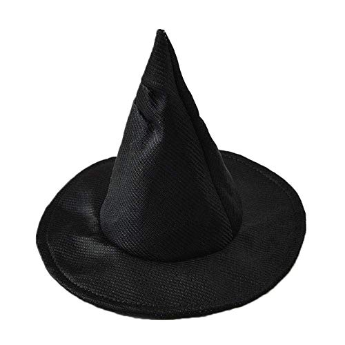 H-ONG Pet Hat Costume Dog Top Hat Dog Cat Magic Hat Cosplay Pet Hat Pet Party Decoration Hat for Puppy Kitty Christmas Halloween Cosplays Accessories (Black)