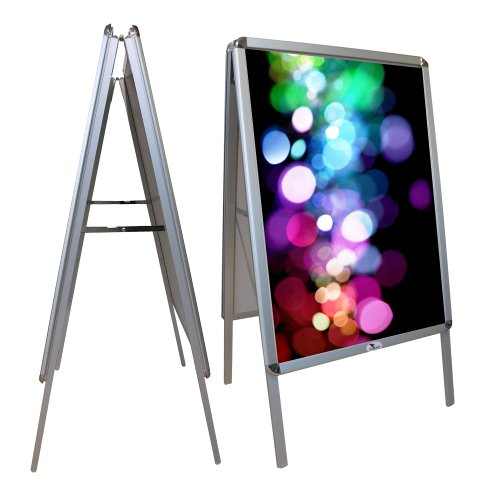 Kundenstopper A1 | ✓ Plakatständer | ✓ Indooraufsteller | ✓ Werbeaufsteller - beidseitig