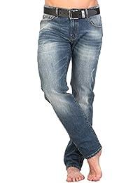 Jeans denim pour hommes JSM261 G589 Slim fit by GEAR 100% coton denim