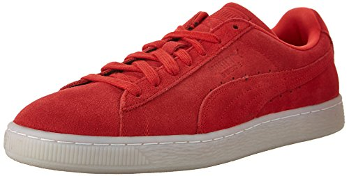 Puma Suede Classic Colored Cuir Baskets High Risk Red-Black