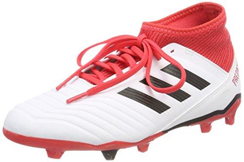 Adidas X 16.3 AG J, Botas de Fútbol Unisex Adulto, Rojo (Rojo/(Rojo/Ftwbla/Negbas) 000), 38 2/3 EU