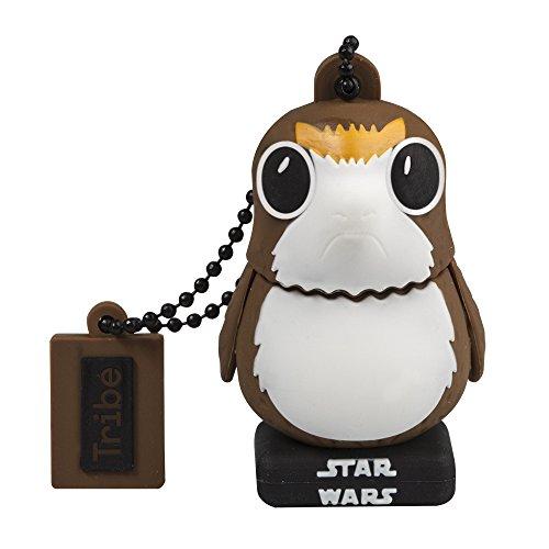 Tribe FD030519 Star Wars 8 Port USB Stick 16GB Speicherstick 2.0 High Speed, Lustige Geschenke 3D Figur braun