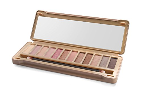 IDC Color Tin Box Eyeshadows Palette, Nudes