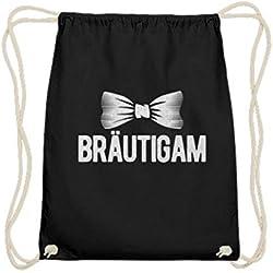 Chorchester Bräutigam JGA für Hochzeits-Paare - Baumwoll Gymsac