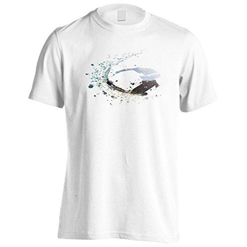 INNOGLEN Surf Surfer Aloha Hawaii Ozean Herren T-Shirt v844m (Surf-hawaii-aloha-shirt)