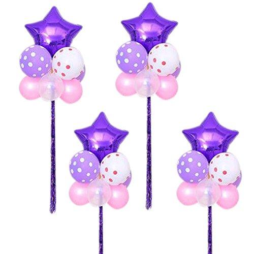 In Gruppen Herzförmige Set 4 Latex Party Hochzeit Geburtstag (Partei-versorgung-großhandel)