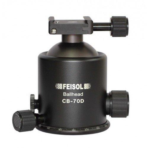 FEISOL Kugelkopf CB-70D, inkl. Schnellwechselplatte QP-144750