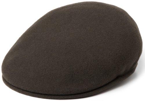 Kangol Herren Schirmmütze Wool 504, Green (Loden), Large (Herstellergröße: Large) -