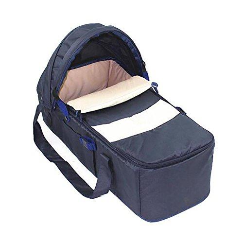 GUO Baby-Körbe draußen Portable Outdoor-Korb Auto Reise Cradle Bed Sleep Blue