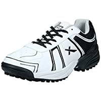 Vector X Target, Men's Cricket Shoes, White, 8 UK (42 EU)