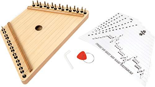 Small Foot 7284 Zither, Musikinstrument aus Holz, mit Anleitung bekannter Kinderlieder