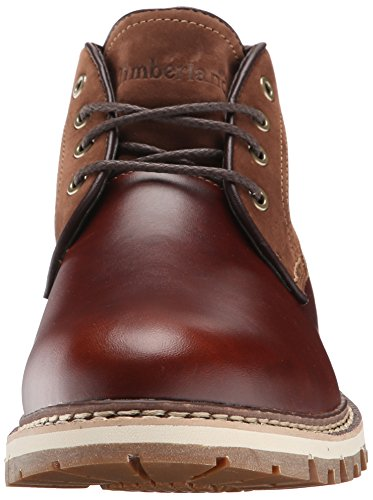 Timberland Bottes BRITTON HILL WATERPROOF CLEAN CHUKKA homme Marron