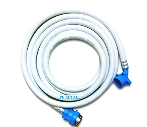 Classic Fully Automatic Washing Machine 3 Mtr Inlet Hose Pipe With Tap Adaptor
