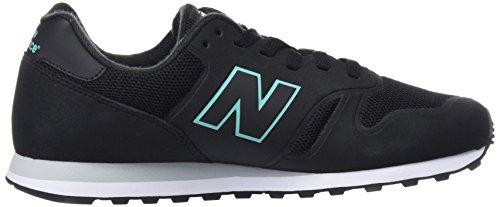 New Balance Herren, Funktionsschuh, Md373 Lifestyle Schwarz (Black)