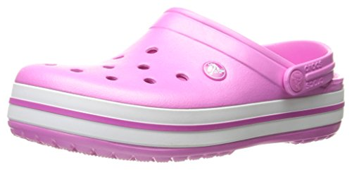 Crocs Crocband, Unisex - Erwachsene Clogs, Pink (Party Pink), 36/37 EU