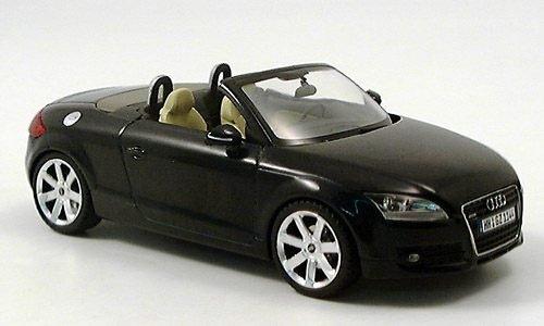 Preisvergleich Produktbild Audi TT Roadster, met.-schwarz, 2006, Modellauto, Fertigmodell, Schuco 1:43