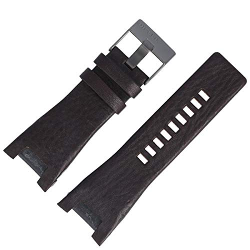 Diesel Uhrenarmband 30mm Leder Braun - DZ-1216