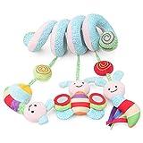 Abboard Baby Bett Wickelspielzeug Insekten Puppe Rasseln Musik Soft Kinderwagen Bett hängend Spielzeug Kinder beruhigt Emotionen Geschenk