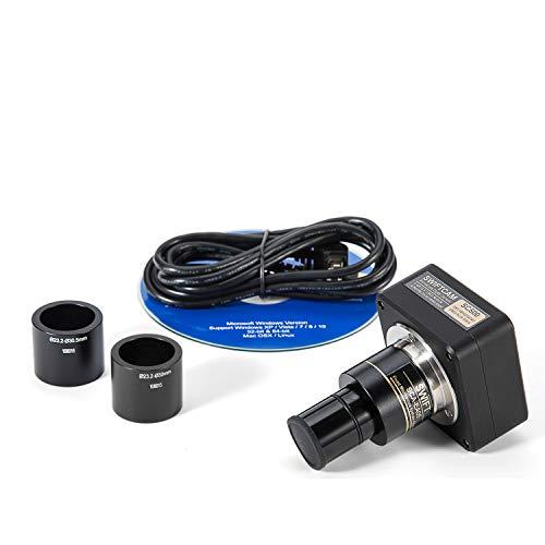 SWIFT Swiftcam 5 Megapixel Kamera für Mikroskope, mit Verkleinerungsobjektiv, Kalibriersatz, Okular-Adapters, und USB 2.0 Kabel, Kompatibel mit Windows/Mac/Linux