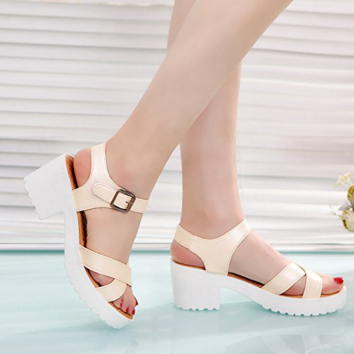 Mulheres Zormey Planalto Sandálias Plus Size 45 Mulher De Gladiadores Sapatos Abertos Estilo Verão Ocos Senhoras Tecer Casuais Sandálias Pretas 7