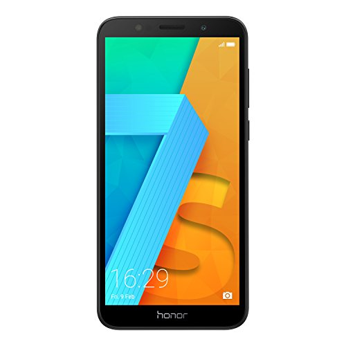Honor 7S Smartphone débloqué 4G (Ecran : 5,45 pouces - Go 16 - Dual SIM - Android) Noir [Version française]