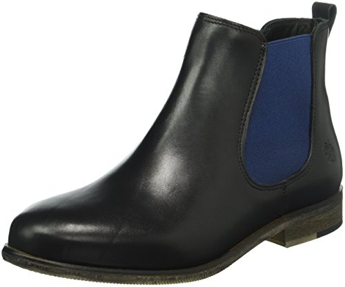 Apple of Eden Damen Manon Chelsea Boots Schwarz (Black)