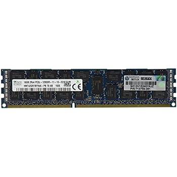 HP 713985-B21 - Memoria RAM de 16 GB (DDR3-1600, PC3L-12800R ...