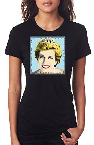 Princess Diana Pop Art - Royal - Ladies T-Shirt