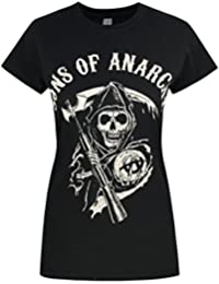 Sons Of Anarachy Reaper Womens T-Shirt