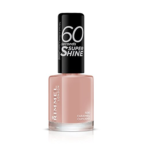 Rimmel 60 Seconds Super Shine, 500 Caramel Cupcake, 8ml