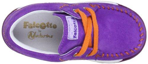 Naturino 2006706029115, Chaussures basses bébé fille Violet (Viola 9115)