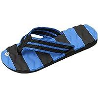Flip Flops Herren,sonnena Männer Flip Flops Schuhe Sandalen männlich Pantoffel innen & Outdoor Flip-Flops Nylon/Basis/Solid/Injektion (43, Gut Blau )