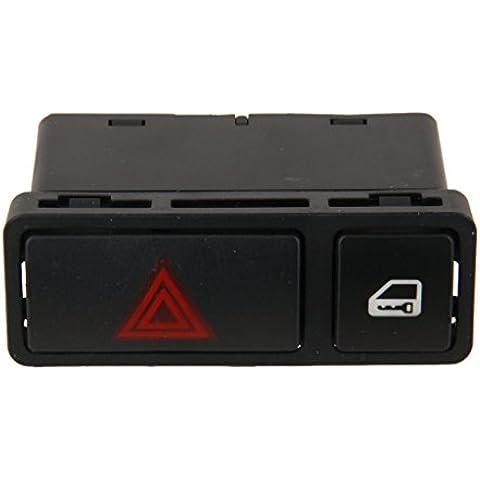 Interruptor de Bloqueo Conmutador Cerradura Central de Advertencia Peligro para BMW E46 M3 X5 Z4