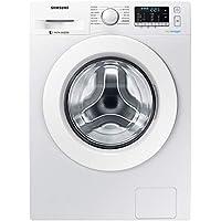 Samsung WW80J5455MW/ET AddWash Lavatrice Standard, 8 kg, 1400 Rpm, Bianco con Oblò Bianco