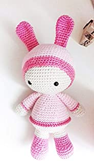 BettyBunny R, bambola amigurumi. bambola all'uncinetto regalo per bambini e adulti. idea regalo. pupazzo.