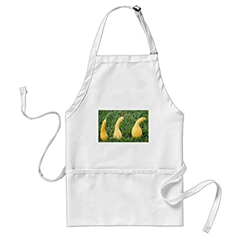 Kitchen Apron for Women Get Your Squash Pattern Aprons for Girls Adjustable col Waist Ties Cooking Apron for Men