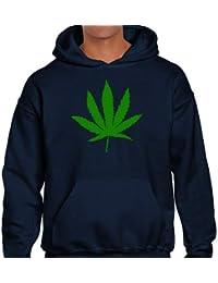 Positivos Sudaderas Capucha Sudadera con Capucha Marihuana - M