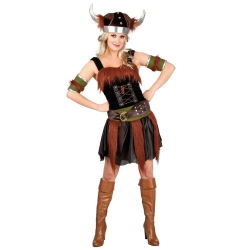 Boland 87741 - Erwachsenenkostüm Wikingerin Freya, Größe 40 / 42 (Starke Frau Halloween Kostüm)