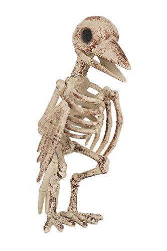 Vogel Skelett Zombie Bird Skelettvogel Halloween Horror (Skelett Zombie)