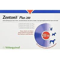Vetoquinol Zentonil Plus pour Chien/Chat Boîte DE 30 Comprimés 200 MG