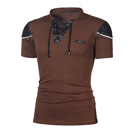 T Shirt Herren Cramberdy T Shirts Männer Kurzarm -