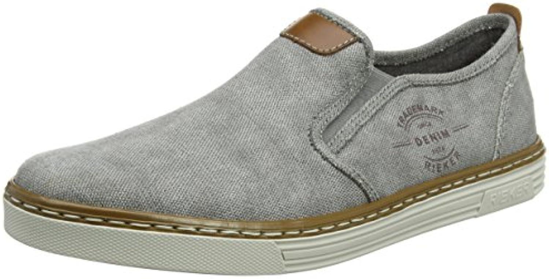 JACK  JONES Herren Jfwrush Chambray Mix Navy Blazer Sneaker