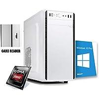 Pc desktop amd ufficio completo,Ram 8gb cpu 3.80Ghz Turbo,Ssd 240 Gb,Card reader,Lettore masterrizatore,Wifi Pc fisso Computer Windows 10 assemblato Open Office Pc desktop ssd