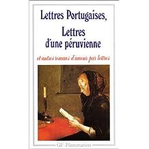 Les Lettres Portugaises (Garnier Flammarion)