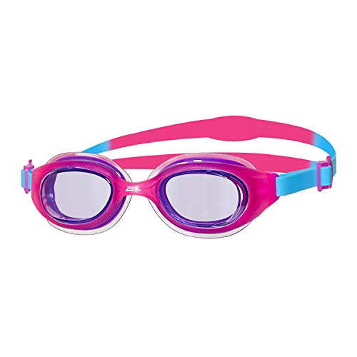 Zoggs Kinder Little Sonic Air Schwimmbrille, Pink/Blue/Tint, One Size