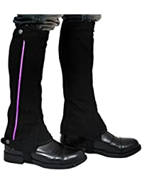 Riders Trend Washable Amara Plain Synthetic - , color negro / morado, talla Small